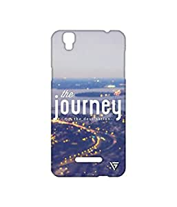 Vogueshell The Journey Printed Symmetry PRO Series Hard Back Case for YU Yureka