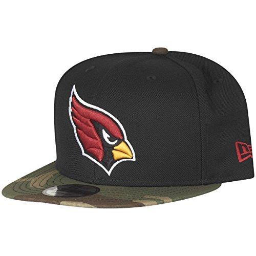 New Era 9Fifty Snapback Cap - Arizona Cardinals schwarz camo (Schwarze Camo New Era)