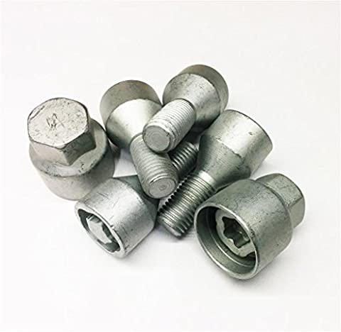Car Alloy - Steel Locking Replacement Wheel Nut Bolt Set
