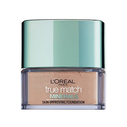 L'Oreal Paris True Match Minerals Foundation, 4W Golden Ivory
