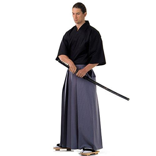 Kendo Gi & Hakama Laido Outfit Baumwolle One Size M L XL Grau & Schwarz (Aikido-gi)