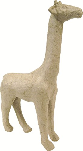 decopatch-giraffe-per-guarnire-dimensioni-ridotte-cartapesta-marrone