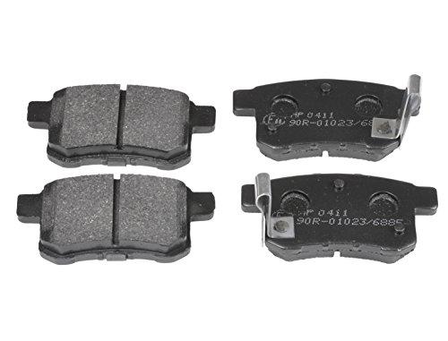 Blue Print ADH24281 Bremsbelagsatz (hinten, 4 Bremsbeläge)