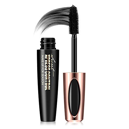 Mascara 4D Silk Lash Mascara, Extra Long, Natural Thick Impermeabile Non Blooming Eye Makeup Long...