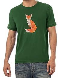 TEXLAB - Polygon Fuchs - Herren T-Shirt