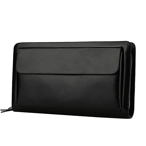 Bag Borsa A Mano Di Affari Sacchetto Di Grande Capacità Pacchetto Multi-card-bit Doppio Manico Cattura Dei Pacchetti Yy.f Nuovi Uomini 2 Colori Black