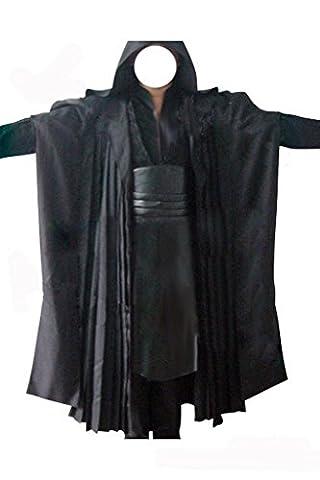 Star Wars Kostüm Darth Maul Kostüm Sith Kostüme für Erwachsene Schwarz S
