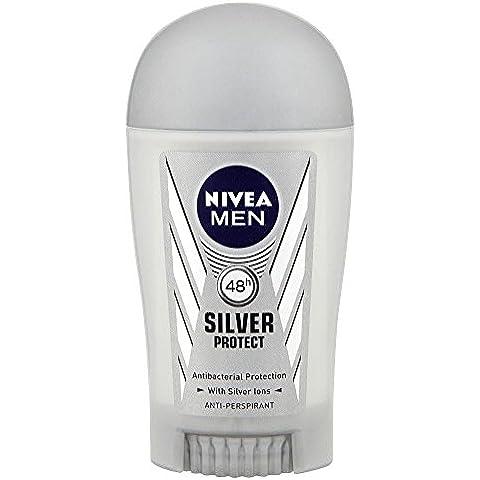 Nivea Los Hombres De Plata Proteger Barra Desodorante Antitranspirante (40ml)
