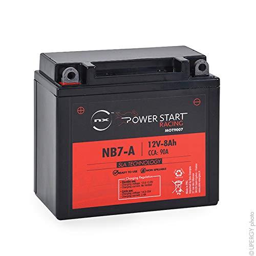 NX - Batteria moto AGM YB7-A - 12N7-4B 12V 8Ah