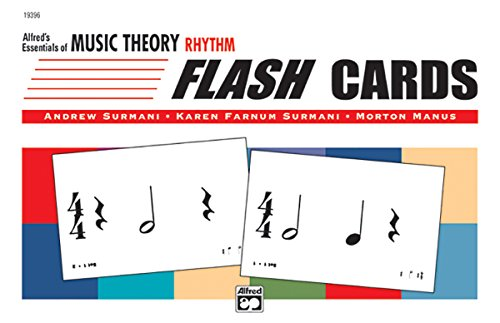 Essentials of Music Theory: Rhythm Flash Cards, Flash Cards por Karen Surmani