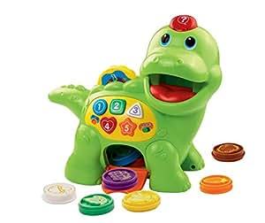 VTech 80-157704 – Fütter-mich Dino, Babyspielzeug