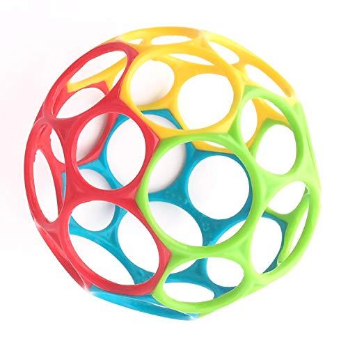 Oball Classic - flexibles und leicht greifbares Design, für Kinder jeden Alters, Mehrfarbig
