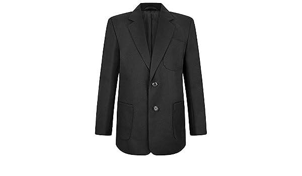 ZECO New Boys Badge Access Blazer School wear Uniform Teflon Coated Pockets Coat