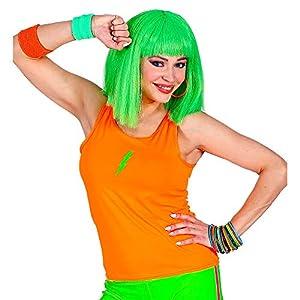 WIDMANN 01448 Neon Tank Top - Camiseta de tirantes para mujer, color naranja neón, talla única