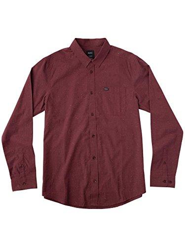 Herren Hemd lang RVCA Casey Hemd Tawny Port