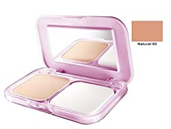 Maybelline Clear Glow All in One Fairness Compact Powder 9gm with Ayur Product in Combo (03- Natural)