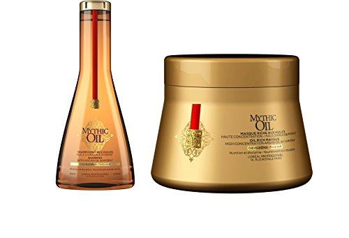 Loreal Professional Mythic Oil Shampoo 250 ml + Mask 200 ml image