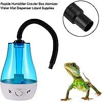 Ritapreaty Rettile Umidificatore 3L Serbatoio per Acqua Crawler Box Atomizzatore Dispenser di Nebbia d'Acqua per lucertole Camaleonti Serpenti Terrario