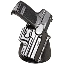 Fobus Paddle Holster Fits H&K Compact/USP 9mm/40/45/Sigma Series/FN49/Ruger SR9, Right Hand, Black by Fobus