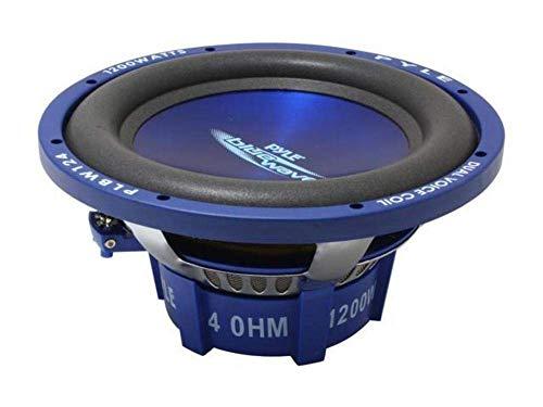 Pyle plbw12430,5cm 1200W DVC Subwoofer Lanzar Car Audio