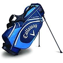 Callaway X Seri Stand Bolsa para Palos de Golf, Hombre, Azul/Azul Oscuro/Blanco, Talla Única