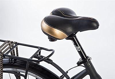 "26"" Zoll Alu Damen City Bike LEADER FOX Ema Fahrrad Tiefeinsteiger Shimano 7 Gang grau"