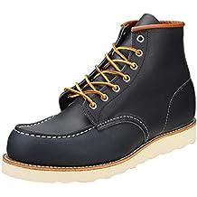 Rojo Wing Zapatos Classic Moc Azul Marino Hombres Botas-UK 8