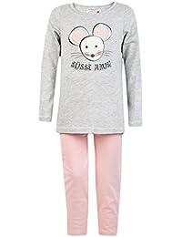 Süße Maus Schlafanzug lang