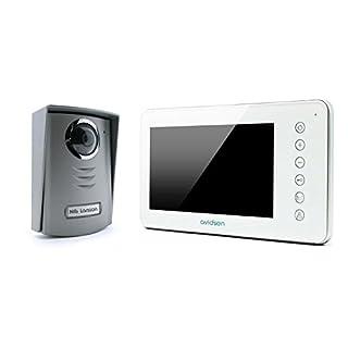 Avidsen 112204 Video-Türsprechanlage mit Kabel und 7-Zoll-Display (17,8 cm), extra flach