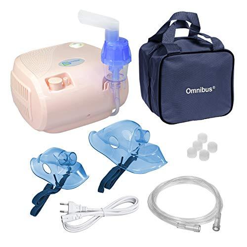 Inhalador Omnibus para niños y adultos en color rosa pálido, BR-CN116B, Peso: 1,2 kg
