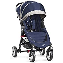 Baby Jogger City Mini 4 Traditional stroller 1seat(s) Azul, Gris - Cochecito (Traditional stroller, 60 mes(es), 1 seat(s), Azul, Gris, Plano, Inflatable wheels)