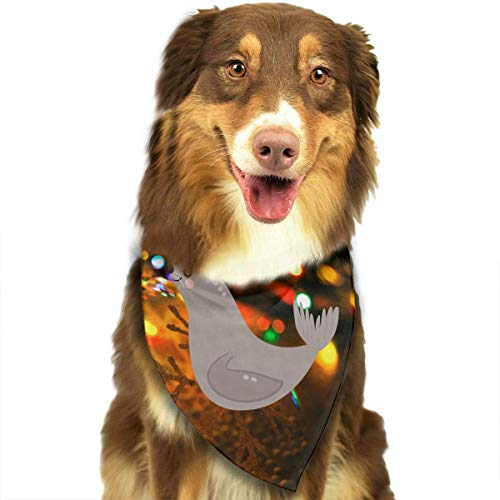 Sea Kostüm Lion - Gxdchfj Sea Lions Cute Fashion Dog Bandana Pet Accessories Easy Wash Scarf