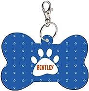 Sky Trends Bone Shape Collar Locket/Pendant for Dogs & Puppy -612, Multicolour, Medium, 1 Count - Ben
