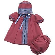 38b87d94c MI HIJA Y YO Vestido Cubre-Pañal y Capota Mimosa para Bebé Niña Colección  Susurros