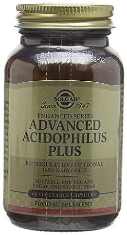 Solgar Advanced Acidophilus Plus Vegetable Capsules - 60 Capsules