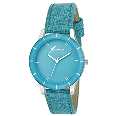 Rich Club Quartz Movement Analogue Multicolour Dial Women's Watch -(PICSO-605COMBO) Pack of 3