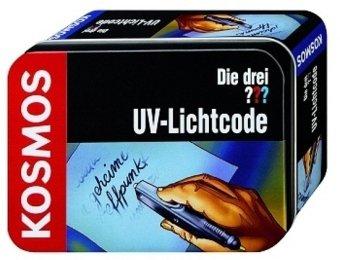 Die drei Fragezeichen, UV-Lichtcode (Experimtierkasten)