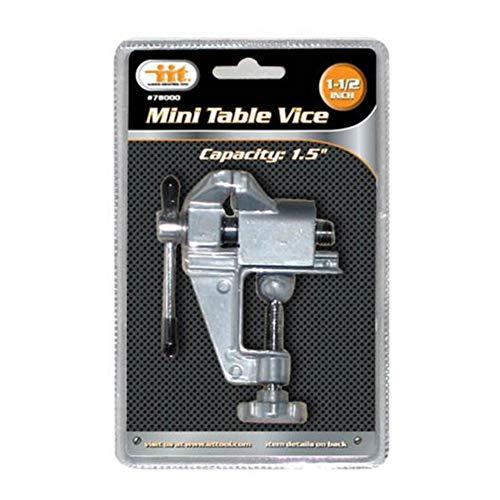 Deanyi Mini Aluminium Werkbankschraubstöcke Tischklemme Kleine Schraubstöcke für Kleinarbeit DIY Schmucksache Fertigkeit Modell Reparatur Bürobedarf