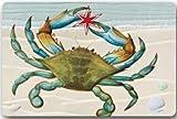 Aeykis Design alla Moda con zerbino di Granchio Grande, Tappetino per Interni ed Esterni 23.6'x15.7 Pollici