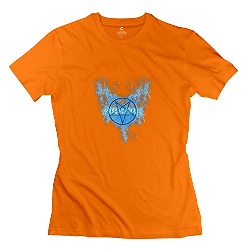 KST Damen T-Shirt Gr. Medium, Orange - Orange (Womens Rose Kara)