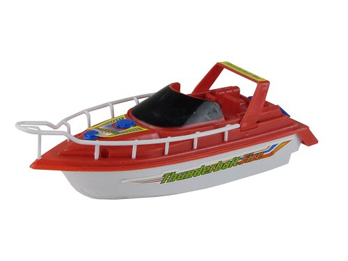 Happy People 72510 - Motorboot, 19 cm, batteriebetrieben