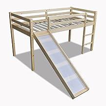 lit mezzanine toboggan. Black Bedroom Furniture Sets. Home Design Ideas