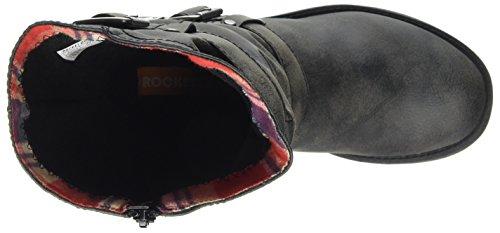 Trumble Dog femme black Bottes Ag7 Noir Rocket Motard Svaqq5