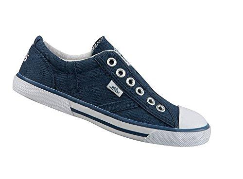 GEKA Damen Conny Slip On Sneaker Blau (Marine)