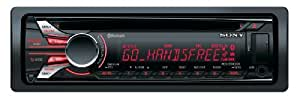 Sony MEX-BT4000U Autoradio avec Lecteur CD/MP3 pour iPod/iPhone Bluetooth USB 52 W