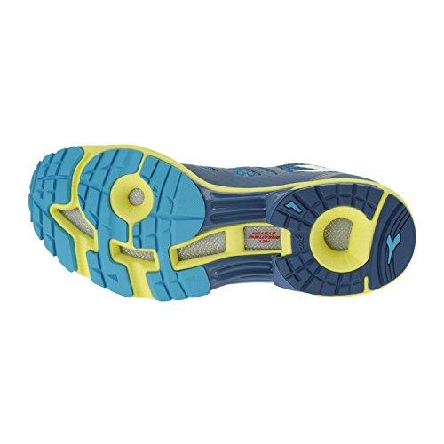 Diadora N-6100-2, Men's Shoes Blu Scuro / Giallo Met