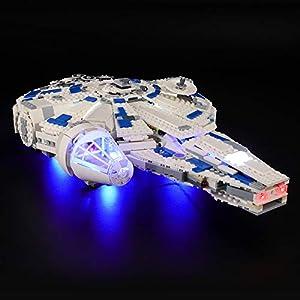 BRIKSMAX Kit di Illuminazione a LED per Lego Star Wars TM Kessel Run Millennium Falcon, Compatibile con Il Modello Lego… 0716852283521 LEGO