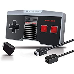 My Arcade Extender Wireless GamePad Combo Kit (Controller + Extension Kabel) NES Classic Mini