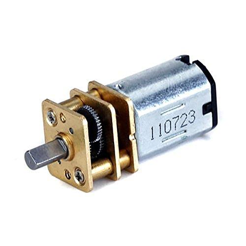 WINOMO 3V-6V DC kurzer Welle Drehmomenterzeuger Getriebemotor