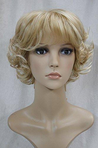 Pantalón corto deportivo para Kalyss sudadera con capucha para mujer pelucas de pelo rizado de pelo de accesorio para disfraz Syntheitc